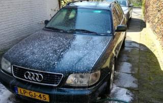 auto polijsten - voorwassen