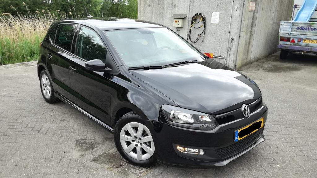 VW Polo gepoetst na een cursusdag auto poetsen en polijsten bij polijstworkshops